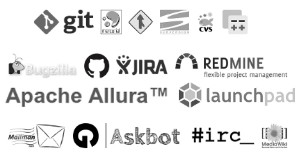 Repositories supported by MetricsGrimoire: git, bugzilla, mailman, redmine, etc.